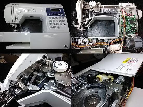 ブラザーイノヴィスSi505のミシン修理分解画像