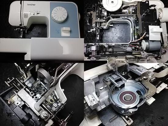 ブラザーミシン修理分解画像EL117