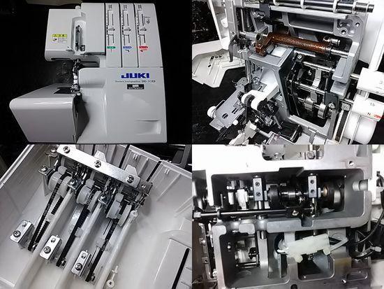 JUKIロックミシンMO-113D修理の分解画像