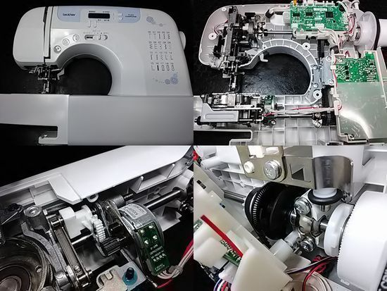 ブラザーPS203のミシン修理分解画像