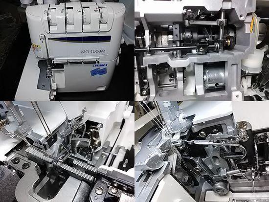 JUKIシュルルMO-1000Mのミシン修理分解画像