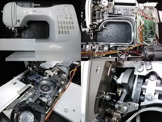 ブラザーCPS52のミシン修理分解画像