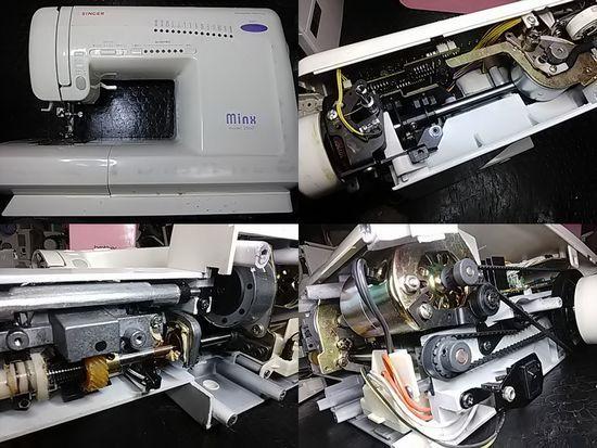 シンガーミンクス2660のミシン修理分解画像