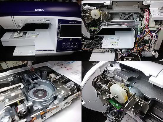 ブラザーNX2700Dのミシン修理分解画像