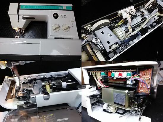 ブラザーZZ3-B765のミシン修理分解画像