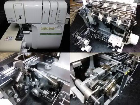 糸取物語BL20EXDSのミシン修理分解画像