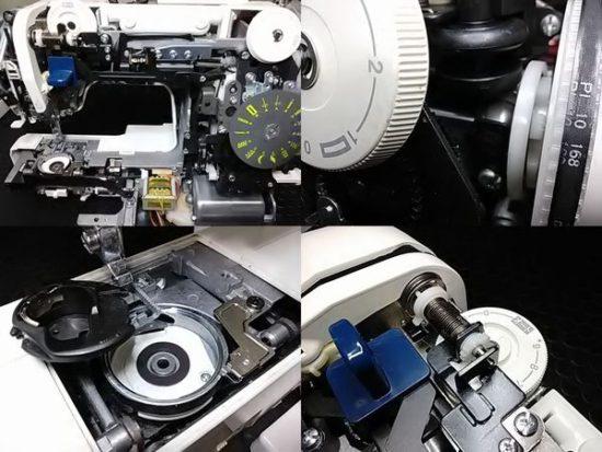 ジャノメモナーゼE4000のミシン修理分解画像