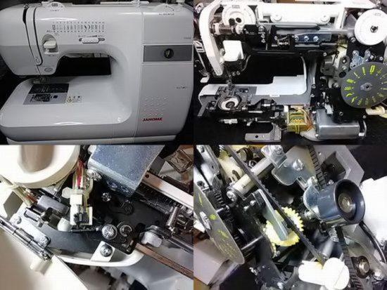 JANOMEミシン修理分解画像G5000