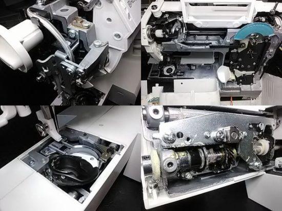 ハスクバーナバイキングエメラルド122のミシン修理分解画像