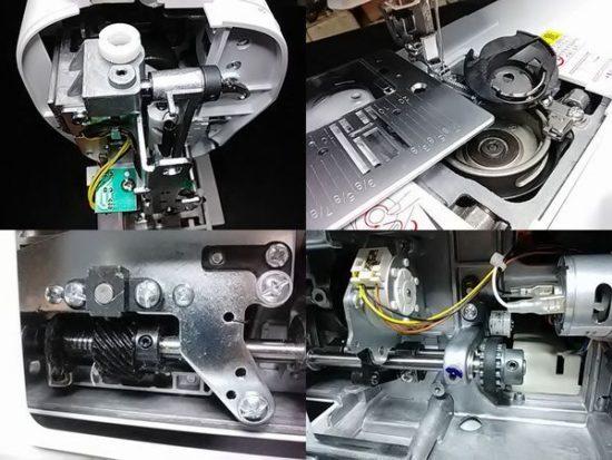 シンガーミシン修理分解画像SN777αⅡ