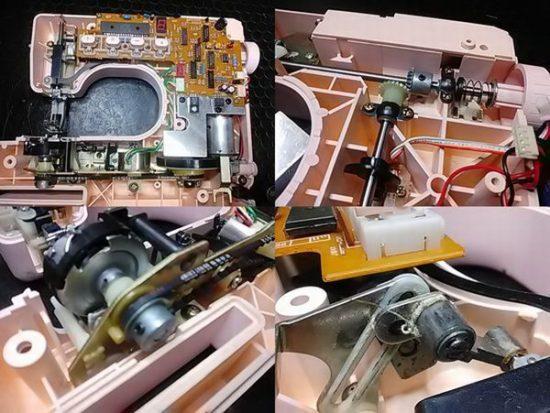ブラザーミシン修理分解画像ZZ3-B101