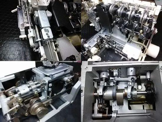 衣縫人BL55のミシン修理分解画像