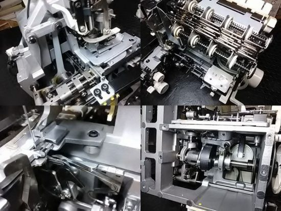ベビーロック糸取物語BL615DXのミシン修理分解画像