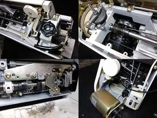 ジャノメプレール18のミシン修理分解画像