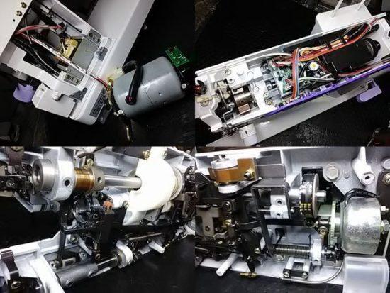 ジャノメコスチューラ767DXのミシン修理分解画像