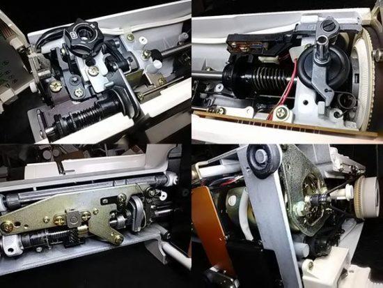 ジャノメプレールEX928型のミシン修理分解画像