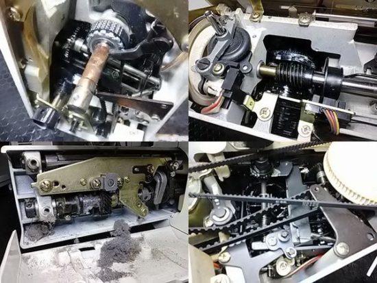 ジャノメS6300のミシン修理分解画像