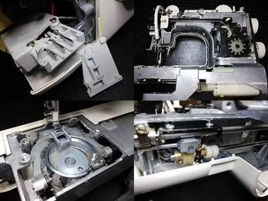 ブラザーZZ3-B541のミシン修理分解画像