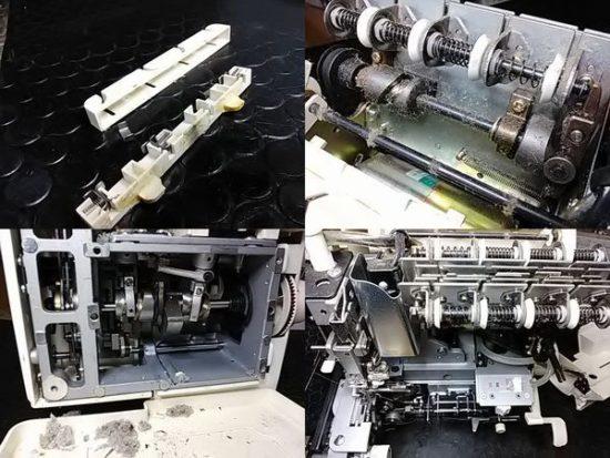 糸取物語BL66のミシン修理分解画像