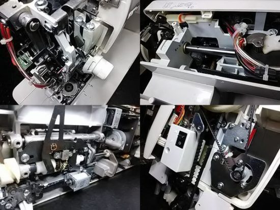 ジャノメCK1100のミシン修理分解画像