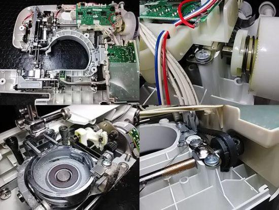 ブラザーCPS40のミシン修理分解画像