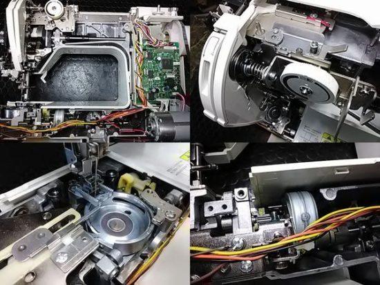 ブラザーミシン修理分解画像Bf-7000