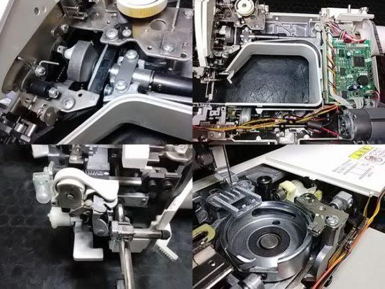 ブラザーフェリエ2のミシン修理分解画像