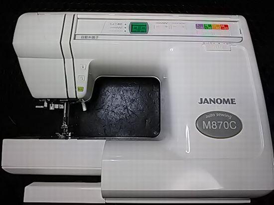 ジャノメ843型のミシン画像