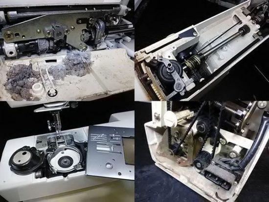 JANOMEミシンNEWHOME686の修理画像