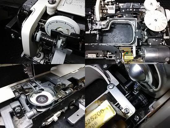 ジャノメミシンJF310分解修理画像