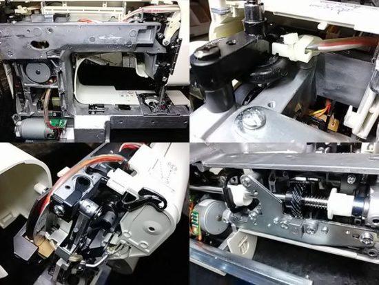 ジャノメミシン修理分解画像JP-500