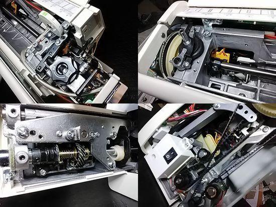 ジャノメM870Cのミシン修理分解画像