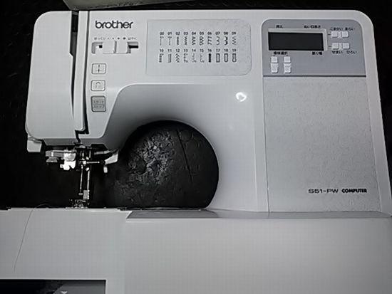 ブラザーCPV75のミシン画像