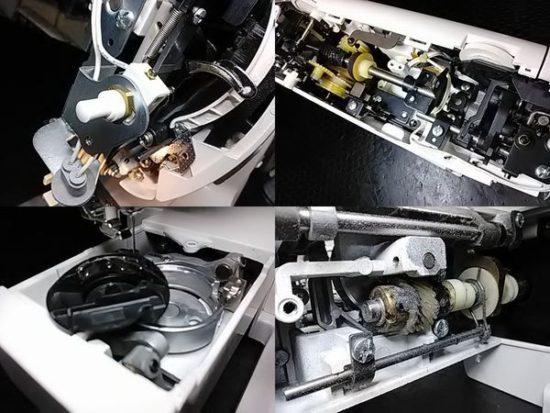 ブラザーZZ3-B508のミシン修理分解画像