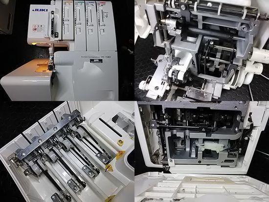 JUKIロックミシン修理分解画像MO-114D